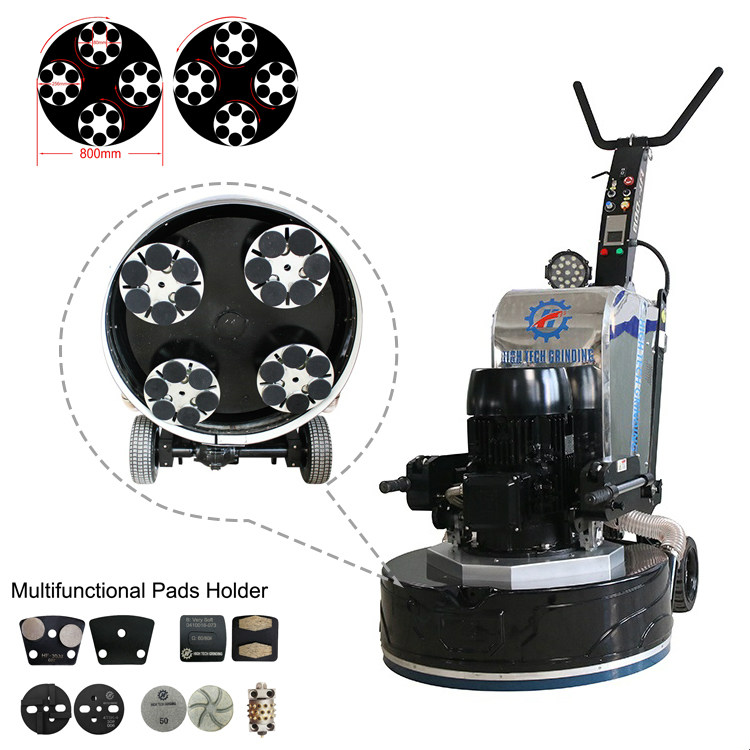 Four-head Floor Grinding Machine