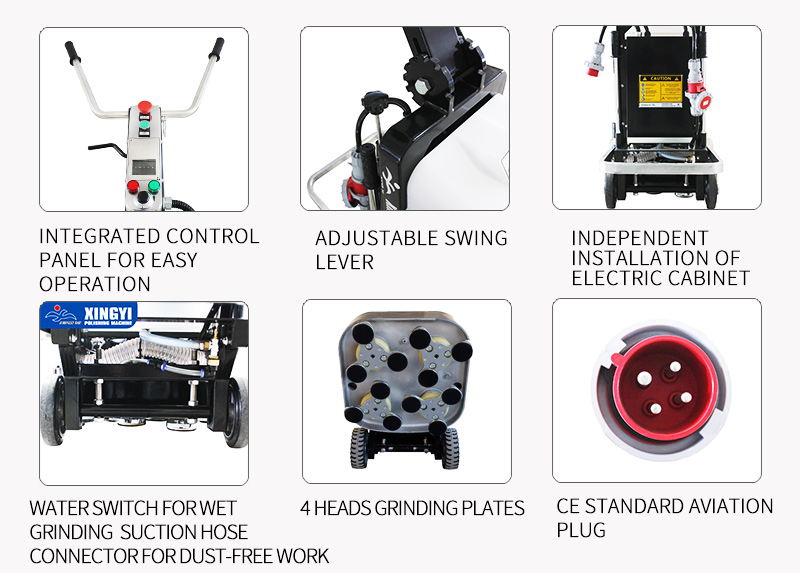 220V and 380V floor surface treatment equipment