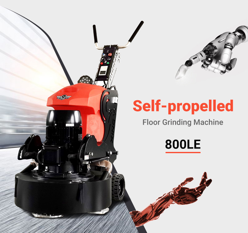 Versatile concrete epoxy grinder polisher