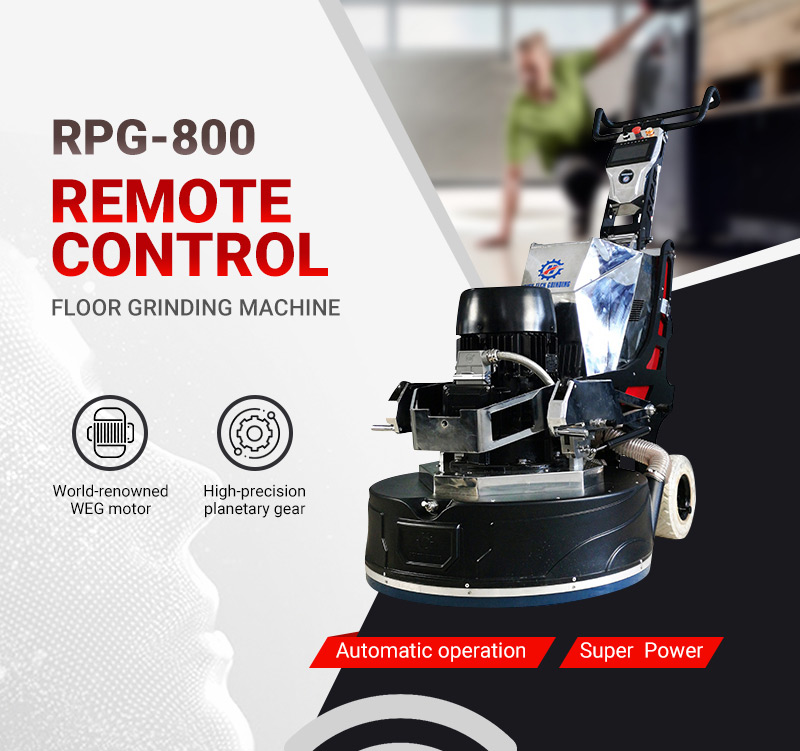 RPG-800 long-range control floor grinder