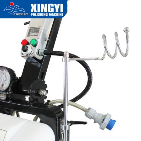 550-3DP productive concrete floor grinder and polisher