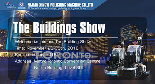 Xingyi will attend The Buildings Show 2018 in Toronto,Canada.